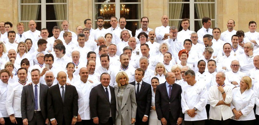 180 chefs à l'Élysée, une première !