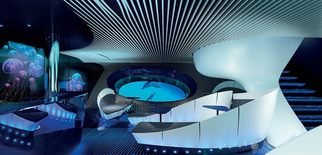 La première Croisière en salon sous-marin : Magique !