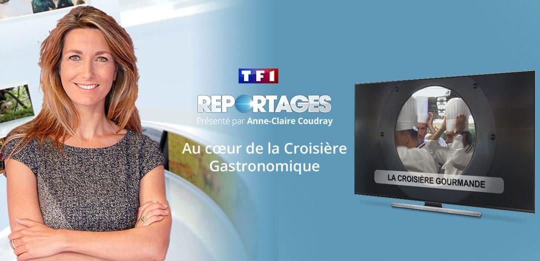 TF1 est venu sur la croisière gastronomique